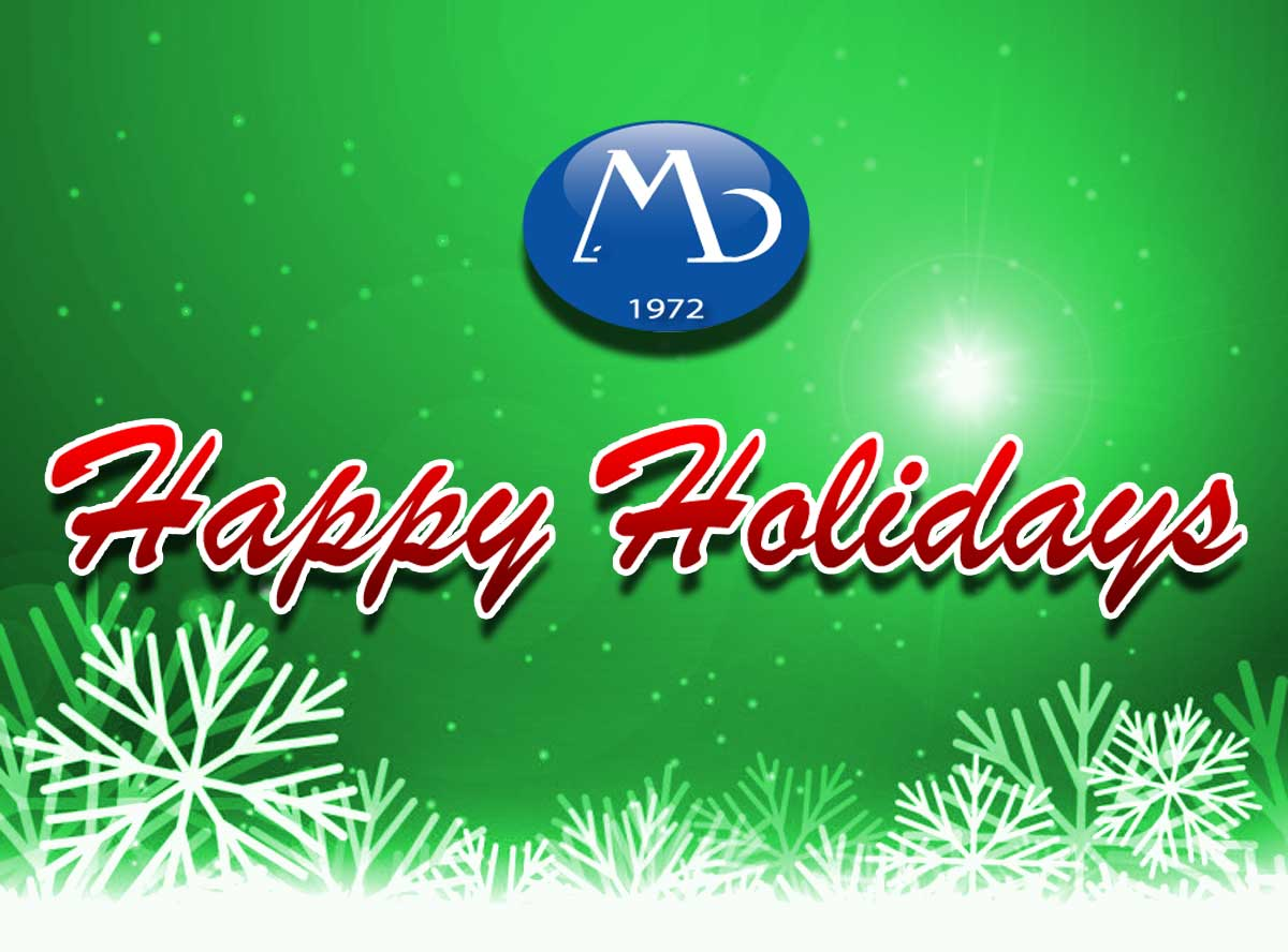Happy Holidays from MB Research Labs - Your Source for In Vitro Toxicology Testing